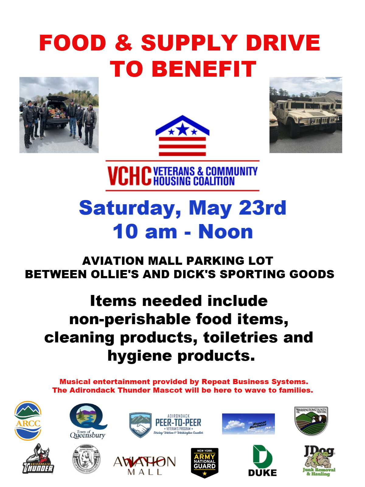 Veterans Food Supply Drive
